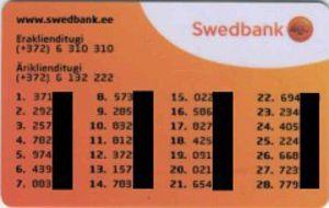 Swedbank_password_card